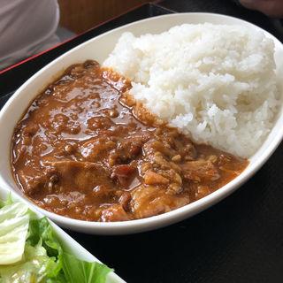 近江牛カレー(近江牛肉の松山)
