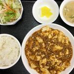マーボー豆腐定食(中華料理 順興閣)