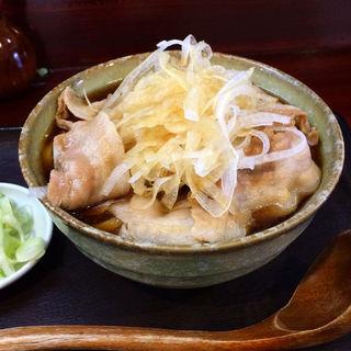肉南蛮そば・中盛(堀留屋 )