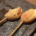 【黄金コース】串 - 名残 : 柿