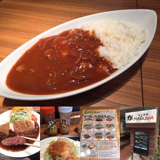 ハヤシライス(洋食酒場 MARUWA)