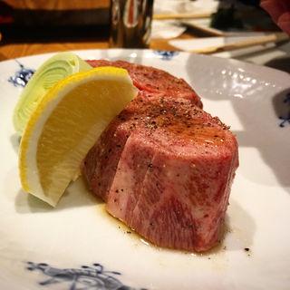 特選タン(和牛焼肉KINZO 新橋本店)