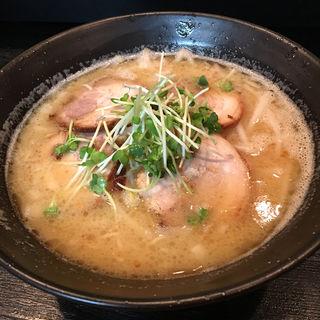 鶏豚白湯(姫島らーめん 朧)