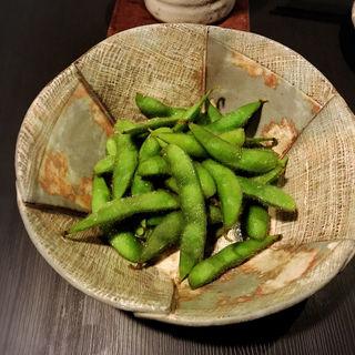 茹で立て枝豆(和酒和食 恵比寿 黒帯 )