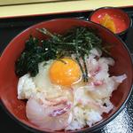 宇和島 鯛めし丼(上)