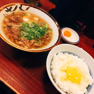 肉吸い(豆腐入り)+ごはん小(千とせ べっかん )