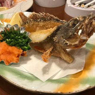 あらかぶの唐揚げ(博多海鮮魚市場)