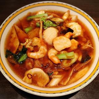 特選海鮮アスター麺(銀座アスター 阪急うめだ本店 )