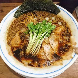 醤油中華そば(麺や マルショウ 豊中本店)