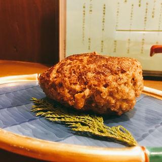 100% ハンバーグ(いわて門崎丑牧場 新宿御苑前店)