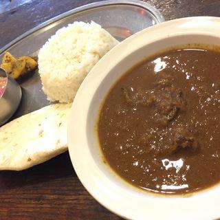 マトンカレー(カレー食堂  ホジャ・ナスレッディン)