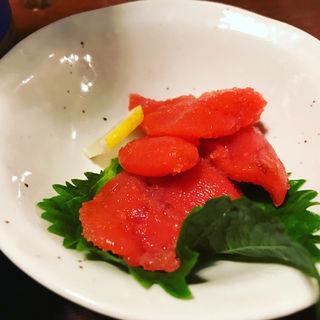 辛子明太子(博多海鮮魚市場)