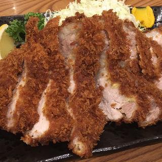 岩中豚のロースカツ(洋食大吉)
