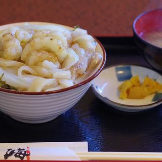 モサエビ白イカ丼(海 (魚料理))