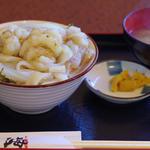 モサエビ白イカ丼
