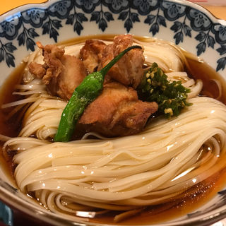 青唐辛子うどん (稲にわうどん 割烹 日本橋 古都里 日本橋本店 (ことり))