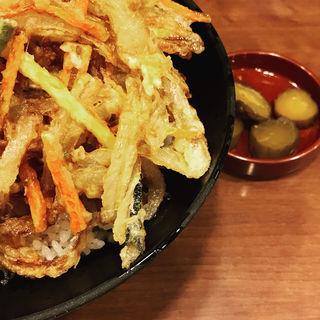 かき揚げ丼(天丼あさひ ホワイティ梅田店 )