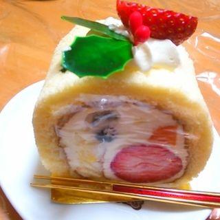 クリスマスロールケーキ(ル・フルティエ (Le・Fruitier))