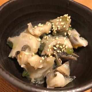 貝の和え物(や台ずし 箱崎駅前 )