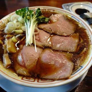 サバ醤油そば×サバ寿司(2貫)(サバ6製麺所 京橋店)