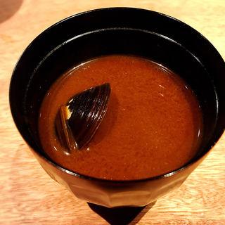 シジミの赤出汁(酒家の元)