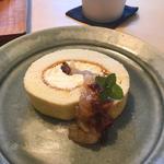 林檎のロールケーキ