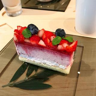 いちごのチーズケーキ(苺のお店 メゾン ド フルージュ)