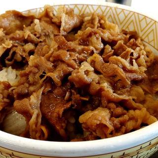 牛丼(すき家 京田辺興戸店 )