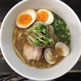 貝汁 味噌麺(らぁめんこはく )