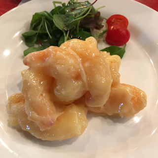 海老マヨセット(中国料理 四川  (シセン))