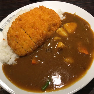 ロースカツカレー+野菜(CoCo壱番屋 昭和御器所店 (ココイチバンヤ))