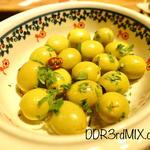 イタリア郷土の味グリーンオリーブのマリネ
