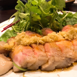 松坂ポークの低温調理の生姜焼き(三度)