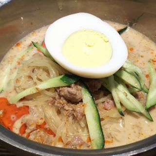 坦々冷麺(大衆ホルモン肉力屋 蒲田東口店)