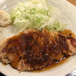 ASポーク黒豚ロースステーキ定食(日の出牧場 サンライズファーム佐原店 )