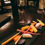 鎌倉野菜の冷製シェリー蒸し