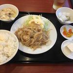 豚肉の生姜焼き (週替わりランチ)