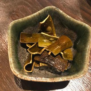 天然利尻昆布せんべい(Kokori (和味和酒ココリ))