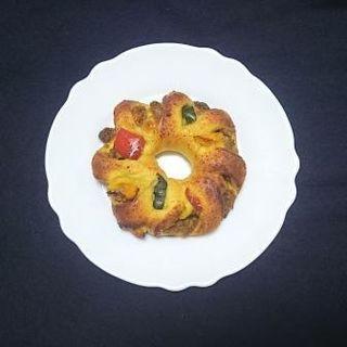 夏野菜カレーリングパン(Alsace Lorraine(アルサス・ローレン))