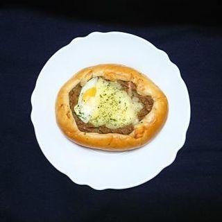 チーズカレーロール(福祉工場しながわ パン工房しなふく プチレーブ)