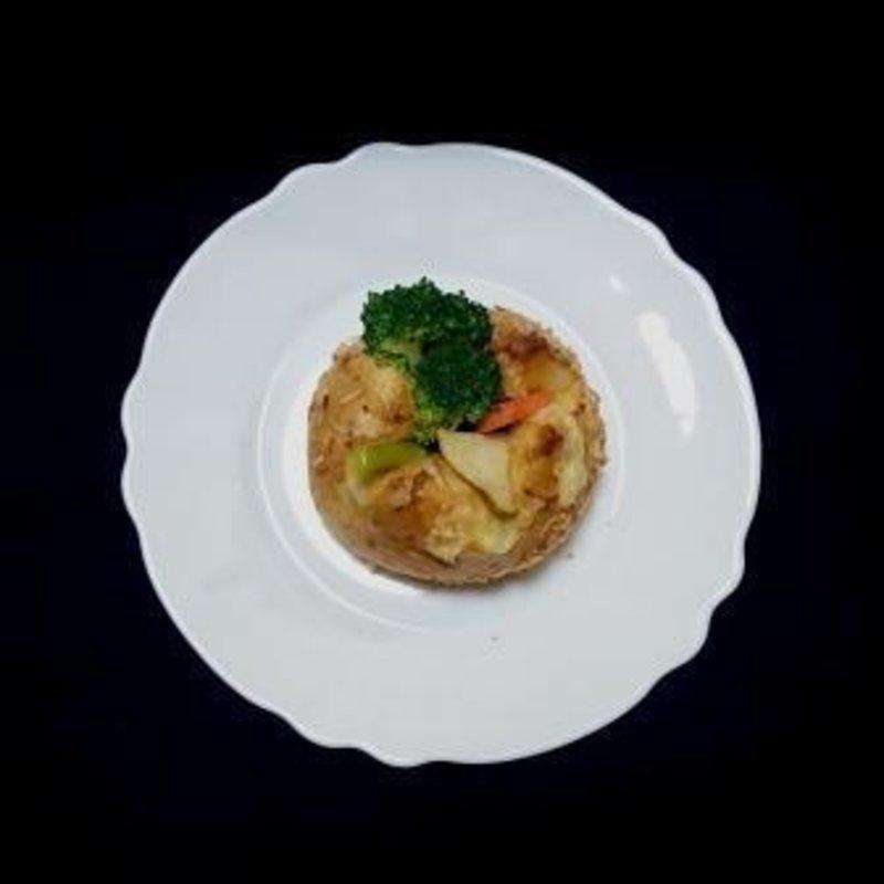 野菜焼きチーズカレー