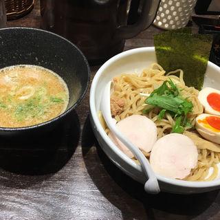 濃厚鶏つけそば 味玉入り 醤油スープ(たけいち )