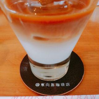 カフェオレ(東向島珈琲店 pua mana (プーアマナ))