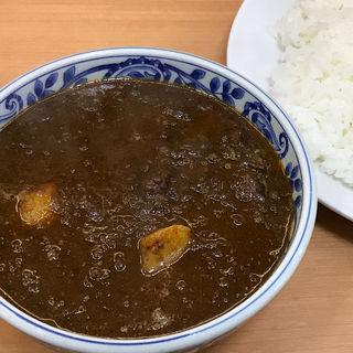 牛ほほ肉のコルマカレー(日替り)(デリー 上野店 (DELHI))
