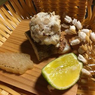 きす粒蕎麦焼(三桝家 )