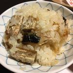 釜飯 焼秋刀魚御飯