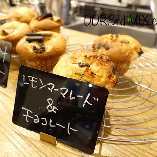 レモンマーマレード&チョコレートマフィン(2F coffee (ニエフコーヒー))