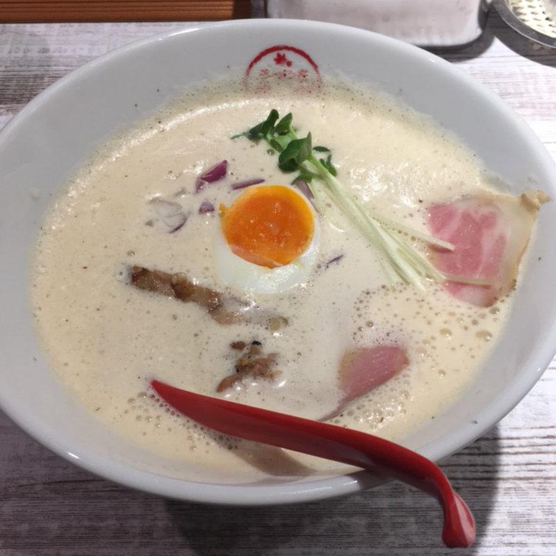 鶏白湯しょうゆラーメン