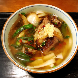 ピリカラ肉うどん(豊前房 )