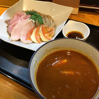 熟成トマトつけ麺(麺処 飯田家)